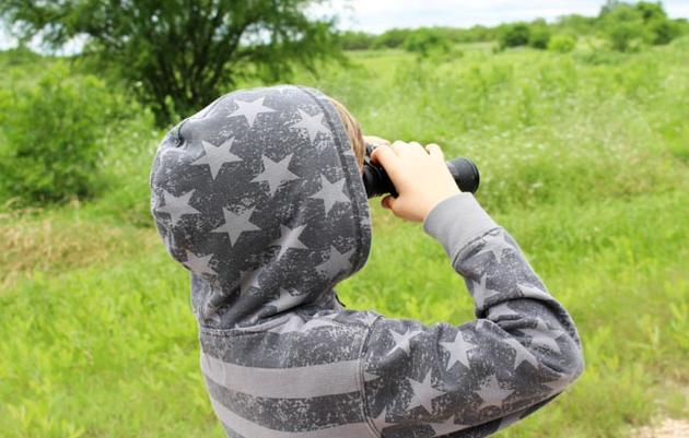 Kids Birding:  Technology in Nature